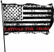 384 Giardino Bandiera Latinas for Trump 2020 Flag
