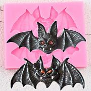 3D Craft Halloween Pipistrelli Stampi in Silicone