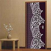 3D Door Stickers for Interior Doors Arabic