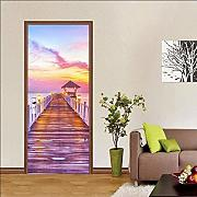 3D Door Stickers for Interior Doors Long