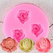 3D Rose Flowers Chocolate Strumenti per Decorare