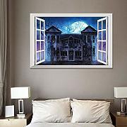 Adesivi Murali Finte Finestre.Stai Cercando Decorazioni Per Finestre Adesivi Murali Lionshome