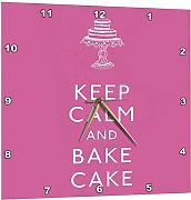 3dRose Keep Calm And Bake Cake.