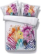 3PCS Bedding Set 1PC Set copripiumino con 2PC