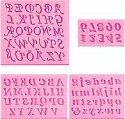 Decorazioni di Zucchero per Torte 10 Numeri per Fondente N\O Heiqlay Stampi Espulsione Biscotti 26 Lettere Maiuscole 26 Lettere Minuscole Stampo Alfabeto Lettere Torta Biscotto