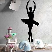 43 * 100Cm Beauty Dancing Girls Stickers Murali