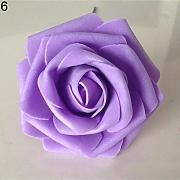 50PCS Fake rose di schiuma fiori artificiali