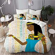 667 Bedding-Duvet Cover Set,Ancient Egyptian Woman
