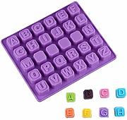 AAC - Stampo in silicone a forma di lettere