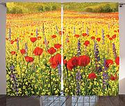 ABAKUHAUS Fiore Tenda, Field with Poppies Farm,