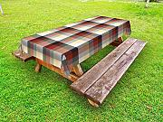 ABAKUHAUS Plaid Tovaglia da Esterno, Colorful