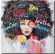 Abstract hip hop graffiti Style stampe su tela