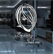 Adesivi Murali Decal Hair Salon Beauty Decal