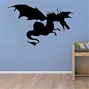 adesivo murale bambini Dragon With Wings For Home