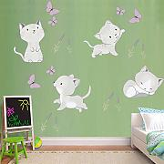 Adesivo murale Coon Animal for Kids Room