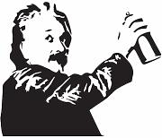 Adesivo murale Einstein Spray Paint Switch Room