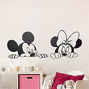 Adesivo murale Minnie Mouse Disney Lovely Topolino