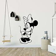 Adesivo murale Minnie Mouse Disney Minnie Mouse