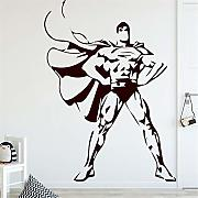 adesivo murale Superman Pattern for Boys Bedroom