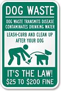 Aersing Green Funny metal Sign for Dog Walker to