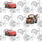 AG Design WPD 9730 Disney Cars, Carta da Parati,