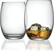 Set da 6 Alessi SG52//40 Mami Bicchiere per Whisky in Vetro Cristallino