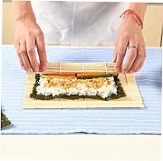 Amoyer Sushi Rotolamento Mats Eco Friendly Bamboo