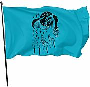AmyNovelty Family Flags,Bandiere da Cortile