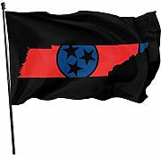 AmyNovelty Flag Banners,Tennessee Flag Design