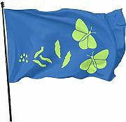 AmyNovelty Home Garden Flags,Farfalla Flag Flag