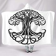 Annays Throw Blanket Tree of Life Roots Yggdrasil
