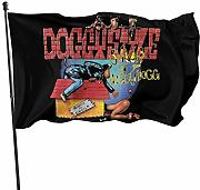 AOOEDM Flag Snoop Doggy Magic Flag 3x5 Decorazioni