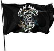 AOOEDM Flag Sons of Anarchy Magic Flag 3x5