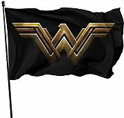 AOOEDM Flag Wonder Woman Casa Giardino Bandiera