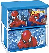 Arditex Spider-3 cassetto per mensola, Blu, Medium