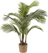 Areca artificiale in vaso
