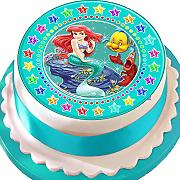 Ariel The Mermaid, decorazione commestibile per