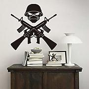 Art Decor AK-47 Arma Soldato smontabile del vinile
