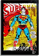 Arthole.it Superman Dc Comics - Quadro Pop-Art