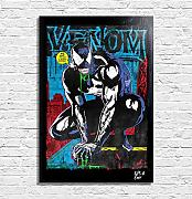 Arthole.it Venom (Marvel Comics) - Quadro Pop-Art
