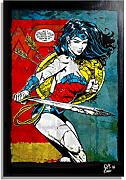 Arthole.it Wonder Woman Dc Comics - Quadro Pop-Art