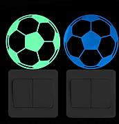Atiehua adesivi muro Luminoso Calcio Switch