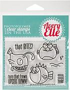 Avery Elle Clear stamp set 10,2 cm x 7,6 cm che