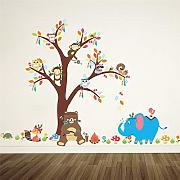 AWYUAN Cartoon Forest Animals   Monkey Bear
