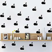 AWYUAN Decorazione    Swan Art Wall Sticker