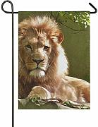 Bandiera Giardino 28x40 Pollici Outdoor Lion