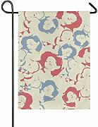 Bandiera Giardino Garden Yard Double Sided Women