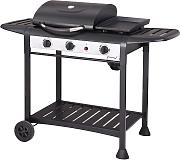 Barbecue A Gas Gpl 3 Fuochi Taddei Elite Nero