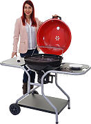 Barbecue grill Houston T763 64x128x95cm Ø 54cm