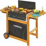 Barbecue metano gpl dualgas adelaide 3 woody dg -